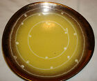 Unique Vintage Ceramic Pottery Plate retro 1027/27 W. Germany Fruit bowl