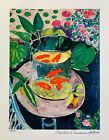 HENRI MATISSE GOLDFISH Estate Signed  Stamped Limited Edition Small Giclee