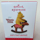 2013 Hallmark Winnie the Pooh Baby's First Christmas Ornament NEW