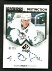 2013-14 SP Authentic EVGENI MALKIN Marks of Distinction Autograph Serial #2 25