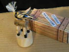 VINTAGE GERMAN WOOD ZEBRA PUSH PUPPET FOR YOUNG OR OLD