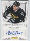 Brett Hull 2014 Panini Father's Day Private Signings AUTOGRAPH Auto 11 15 *Q607