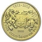 2012 1/4 oz Gold Canadian $10 Coin - War of 1812 - SKU #78440