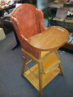 VINTAGE STORKLINE CONVERTS TO A PLAY TABLE HIGH CHAIR 1950'S RETRO