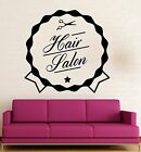 Wall Sticker Vinyl Decal Beauty Sign Hair Salon Haircut Spa ig2037