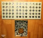 2010 2015 60 Coin National Park Quarter PD Complete Set to date wHarris Folder