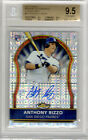 2011 Topps Finest Xfractor Anthony Rizzo Auto RC 299 BGS 9.5 Gem Rookie Card