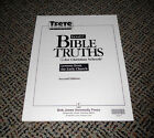 BJU Bob Jones Bible Truths Tests C Lessons Early Church 9 9th NEW FREE SHIP