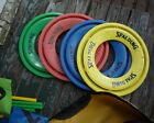 SPALDING FLYING DISK GOLF UNUSUAL LAWN AND YARD GAME DISKS FLAGS AND MARKERS