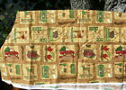 Debbie Mumm Forest Friends Reindeer Moose Bears Christmas 1 3/4 yd Fabric-M9