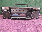 RARE VINTAGE FISHER PH-W405 BOOMBOX GHETTO BLASTER RADIO DOUBLE TAPE PLAYER
