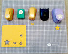 Assorted Lot of 5 Small Paper Shapers/Punches Marvy Uchida Creative Memories