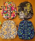 NWT Vera Bradley Small Backpack Va Va Bloom Baroque Go Wild Indigo Pop