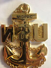 MIDPAC FY 2013 CPO INDUCTION CHIEF CHALLENGE COIN,CPO COIN. HUGE CPO ANCHOR COIN