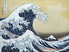 "Hokusai Japanese Ukiyo-e ""36  Views  of  Mount  Fuji""  The Great Wave off Kanaga"