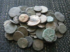 Lot of 80 Ancient Roman Uncleaned Bronze Coins Follis ( 33 )