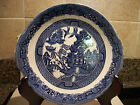 Antique Blue Willow Platter,19th Century ,English Ironstone pottery RW Midwinter