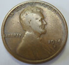1914d  Lincoln Wheat Back Penny    i KEY to Collection