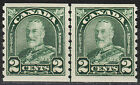 Canada 2c KGV Arch Coil Line Pair, Scott 180i, F-VF MNH, catalogue - $39