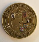 ~CHALLENGE COIN US 82ND 101STAIRBORNE DIV OEF III OPERATION ENDURING FREEDOM