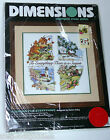 Dimensions Stamped Cross Stitch Embroidery Season For Everything Kit retired NEW