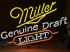 VINTAGE NEON MILLER GENUINE DRAFT LIGHT