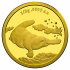 2014 SOLID GOLD - PLATYPUS - $2 -  99.99% PURE SOLID GOLD PROOF COIN - RAM