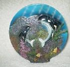 Nautical Maritime Killer Whale Set Playing K's Collection Limited Edition Plate