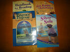 Lot Abeka 2nd 3rd grade readers Silver Sails All Kinds of Animals Pilgrims Prog