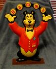 RARE VINTAGE HAMM'S BEER JUGGLING BEAR STORE DISPLAY SIGN