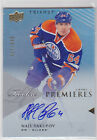 2013 13-14 Upper Deck Trilogy #101 Nail Yakupov Autograph 627 699 RC Rookie