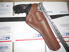 SW 586 686 Colt Python 6 Dual Two Position Brown Leather Holster Cross Draw