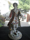 MUSEUM QUALITY ANTIQUE PORCELAIN FRENCH ENGLAND OR GERMANY MARKED FIGURINES,NR!