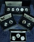 New 2006, 2011, 2012 & 2013 AMERICAN EAGLE SILVER PROOF SETS (BOXES & COAS)