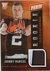 Johnny Manziel 2014 Panini National Rookie Event-Warn Glove RC *R734