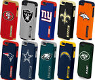 iPhone 5 5S Licience NFL Football Hard Soft Rubber Defender Hybrid Case Cover