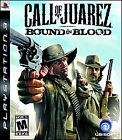 Call of Juarez Bound in Blood  (Sony Playstation 3, 2009) PS3 Rated Mature