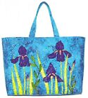 Large Iris Tote Quilt Pattern by Quilts 'n Stuff