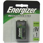 1 New Energizer 9V Rechargeable Battery NH22NBP NiMH 8.4V- 175mAh, Single Pack