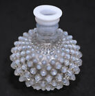 Vintage FENTON Hobnail Milk Glass Bottle Bluish Tint 1939 - NO TOP