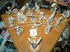 Hudson Pewter Animal Orchestra STRIKE UP THE BAND (riser and 18 pewter pieces)