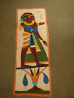 Vtg Aztec Wall Hanging Table Runner Mayan Mexican Hand Made Southwestern Rug