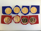 2014 P&D Presidential Dollar Set of All 8 Uncirculated Mint Set Coins