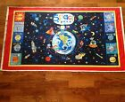 A OUTER SPACE OF THIS WORLD- 9 PLANET'S EXPLORER'S COTTON FABRIC PANEL