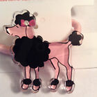 GYMBOREE GIRLS TRES CHIC PONY TAIL HOLDER HAIR NWT Pink/Black