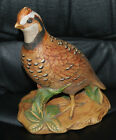 Holland Mold Quail Bird Pottery Ceramic Handpainted Figural Statue 8.5