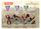MIB Toy Soldiers TIMPO Painted Medieval Knights 1/32 Scale 4 Piece Set 43105-2