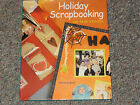 Holiday Scrapbooking book 200 page designs Hard Cover Idea Book