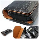 Alligator Leather Holster Belt Clip Carrying Case Pouch For Apple iPhone 6 PLUS