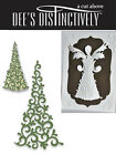 DEES DISTINCTIVELY DIES TREE OVERLAY 1 IME022 MERRY CHRISTMAS HOLIDAY CARDS
